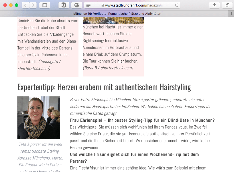 Friseur München: Stylingtipps