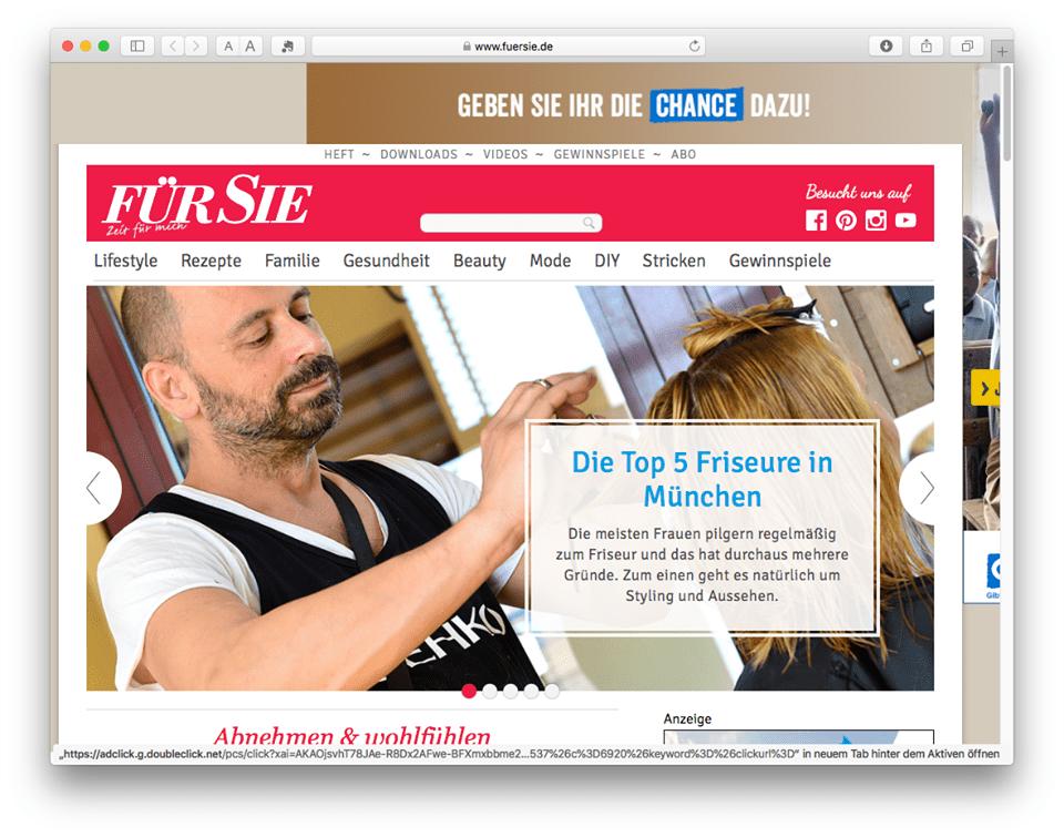 Fuersiede Hat Münchner Friseure Unter Die Lupe Genommen